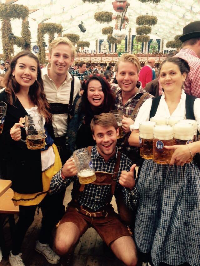 Budget reis naar Oktoberfest in München 2014
