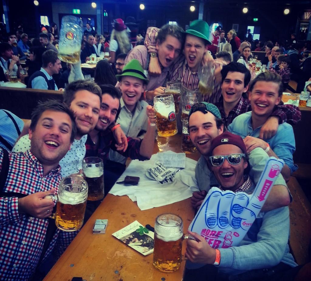 Budget reis naar Oktoberfest in München groep