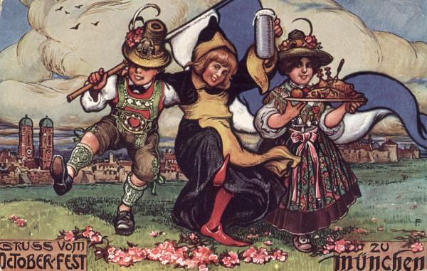Geschiedenis Oktoberfest in München