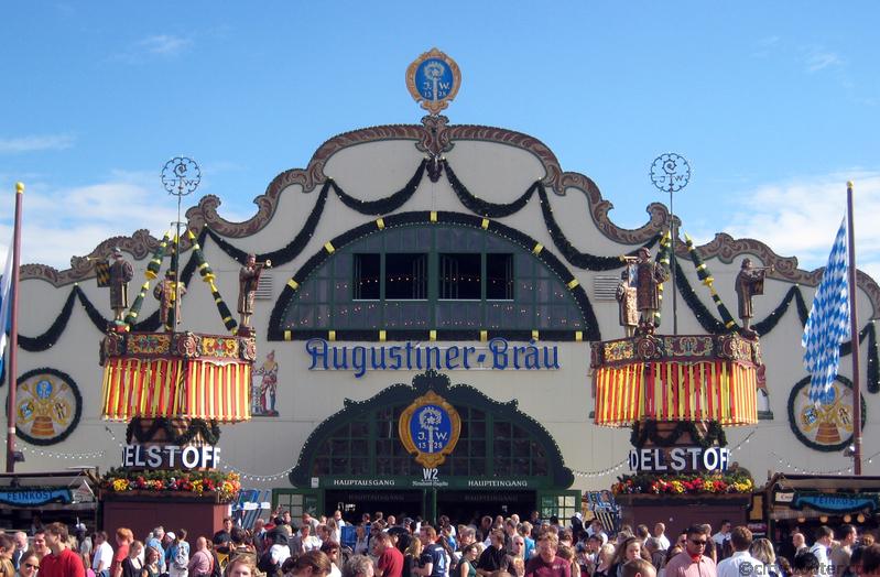 Biertent Oktoberfest Augustiner-festhalle