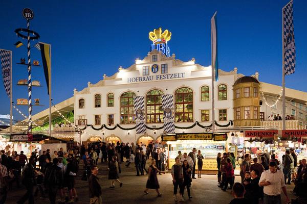 Biertent Oktoberfest Hofbräu Festzelt
