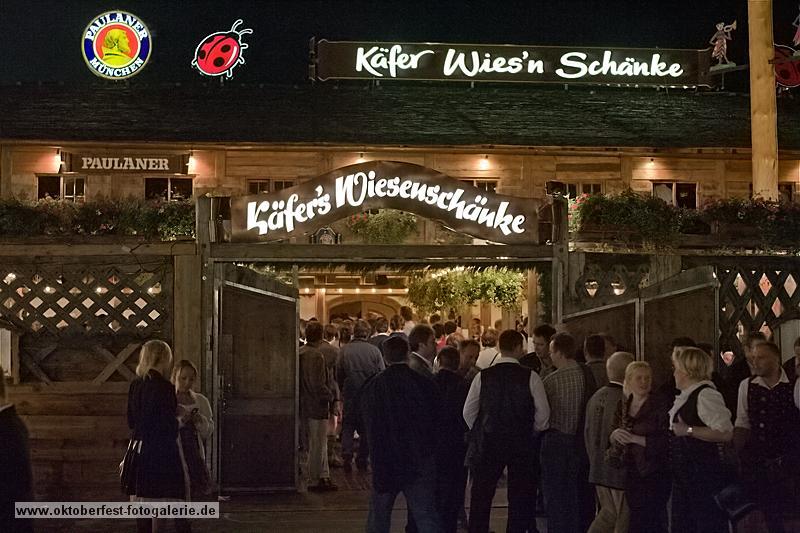 Biertent Oktoberfest Käfers Wiesnschänke
