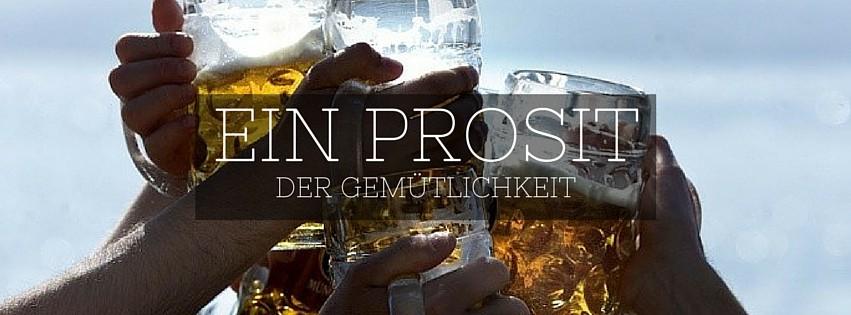Reis Oktoberfest München - Ein Prosit der Gemütlichkeit bier lied
