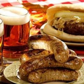 Bratwurst Oktoberfest Carnaval Blog