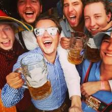 Oktoberfest reis 2015 friends