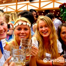 Oktoberfest weekend 2015 chicks